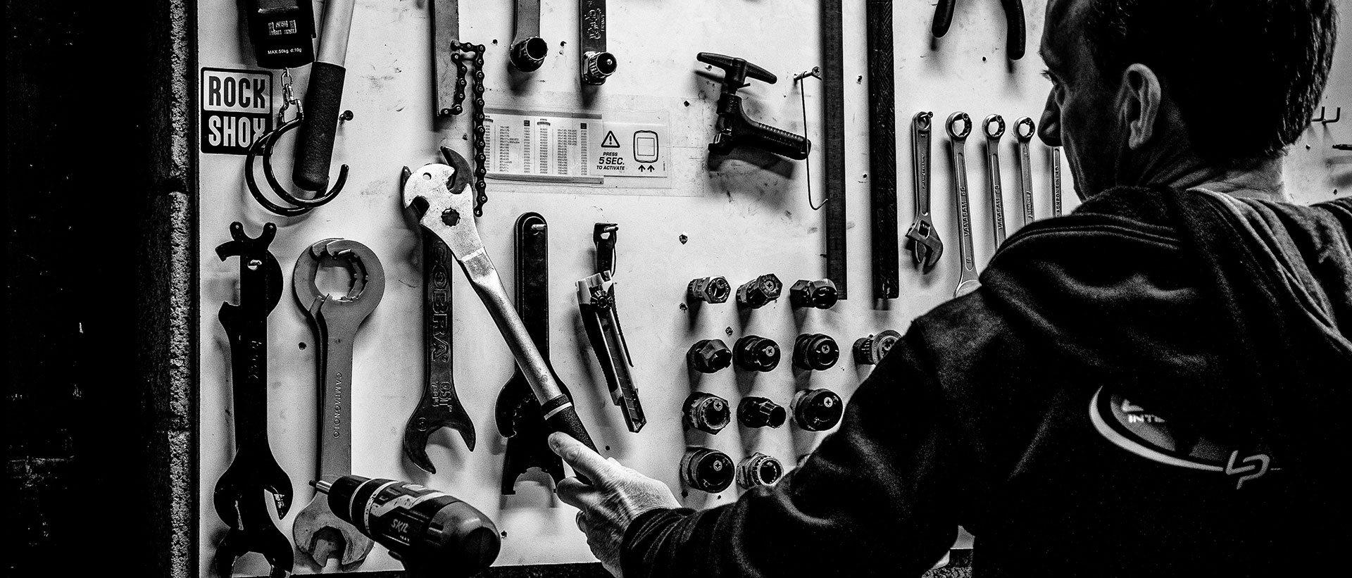 Brival Tulle atelier de réparation de vélos