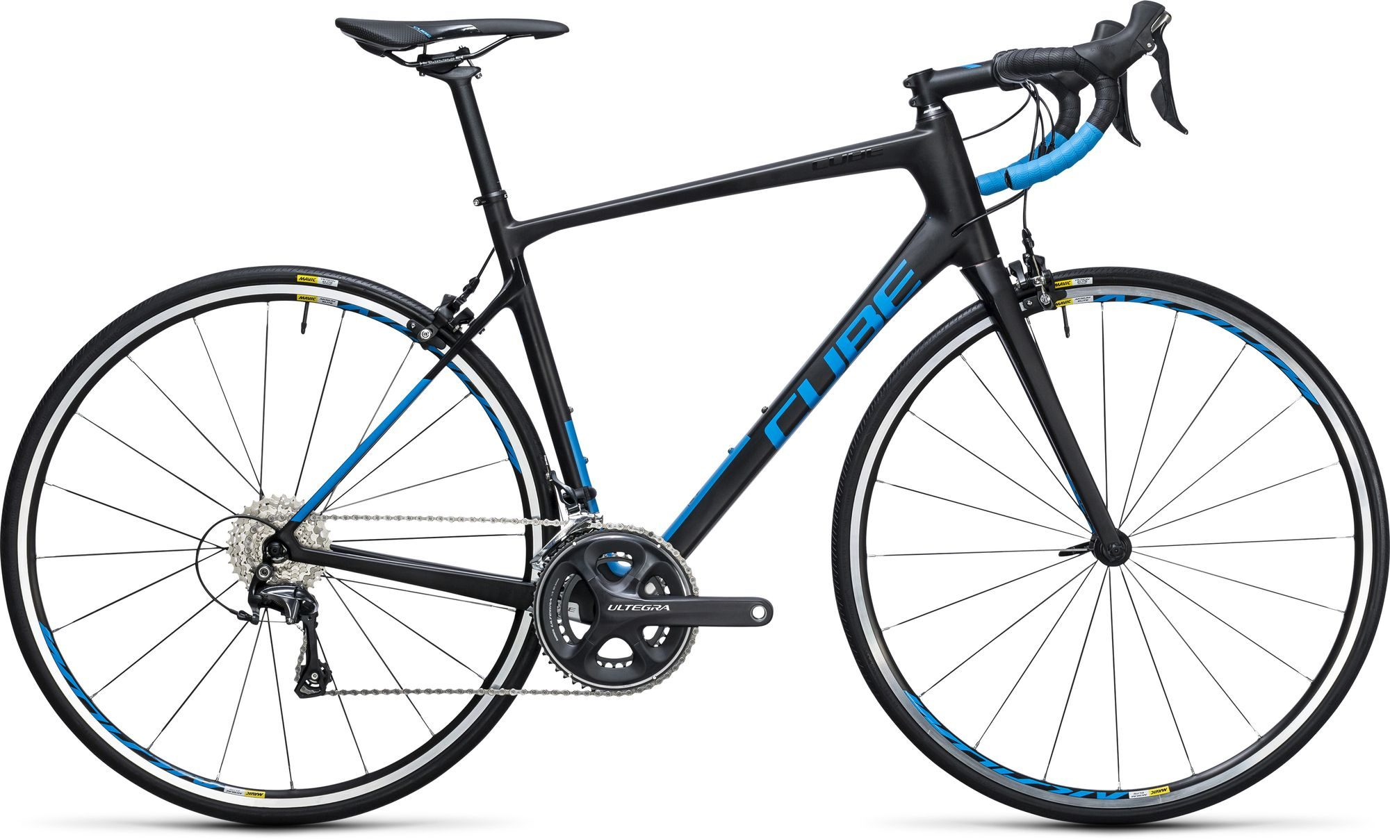 route cube attain gtc race carbon blue 2017 - Velobrival