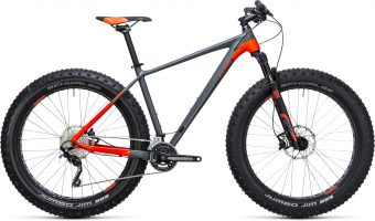 fatbike cube nutrail grey 2017 - Velobrival