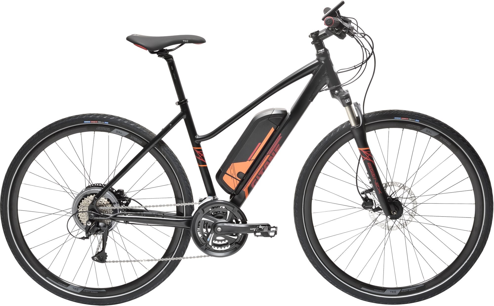 velo electrique Gitane eVerso e-Going Mixte - Velobrival