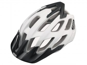 casque abus hill bill polar matt - Velobrival