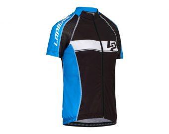 maillot route femme lapierre bleu 2015 - Velobrival