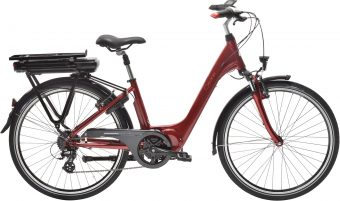velo electrique Gitane Organ E-Central XS rouge - Velobrival