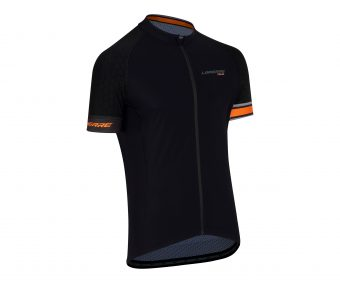 maillot mc vtt lapierre orange 2017 - Velobrival