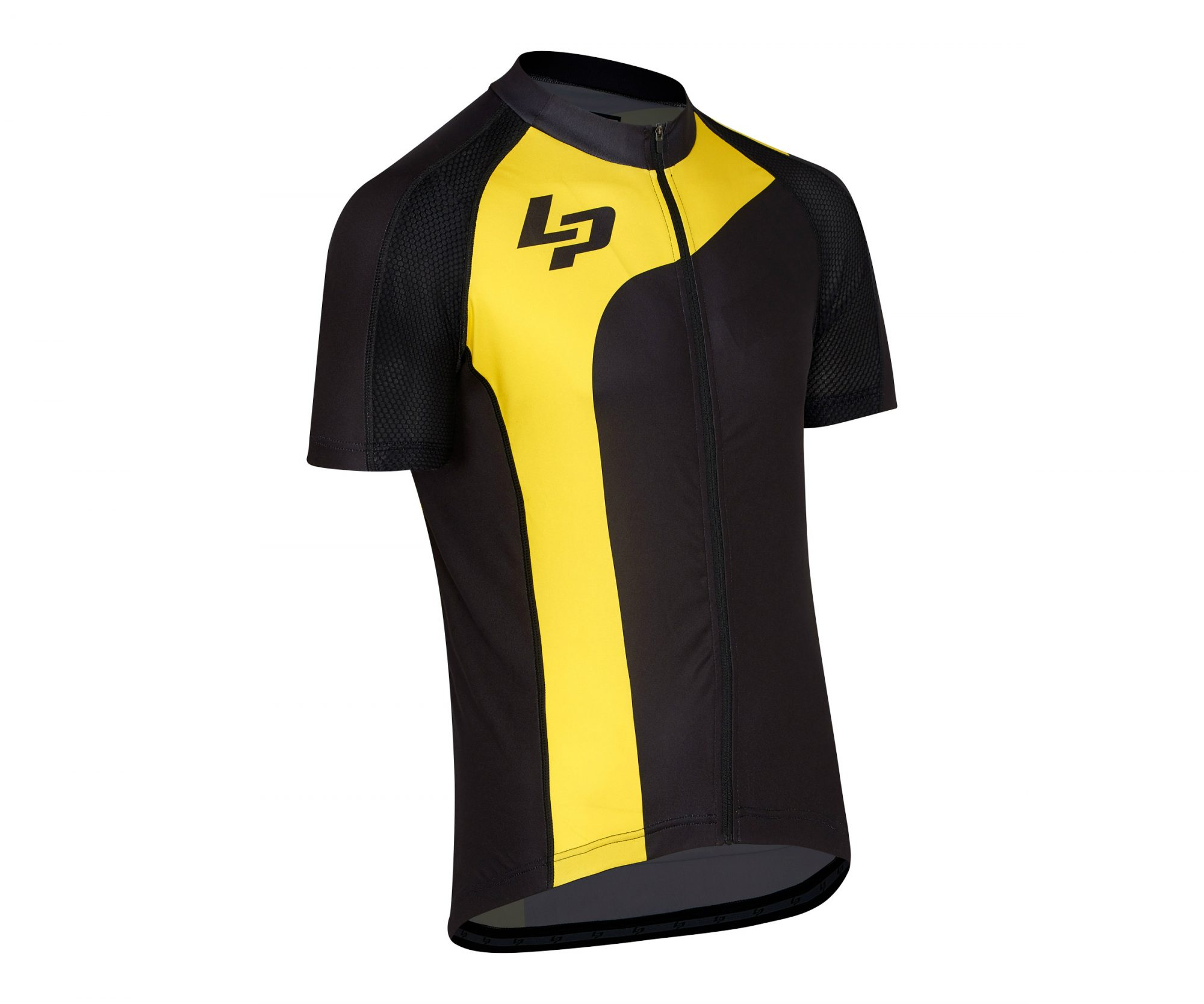 maillot route mc lapierre mustard 2017 - Velobrival