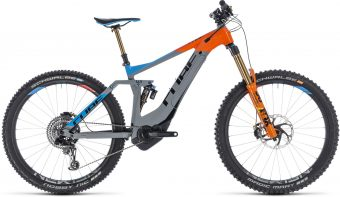 velo electrique cube stereo hybrid-160 action team - Velobrival