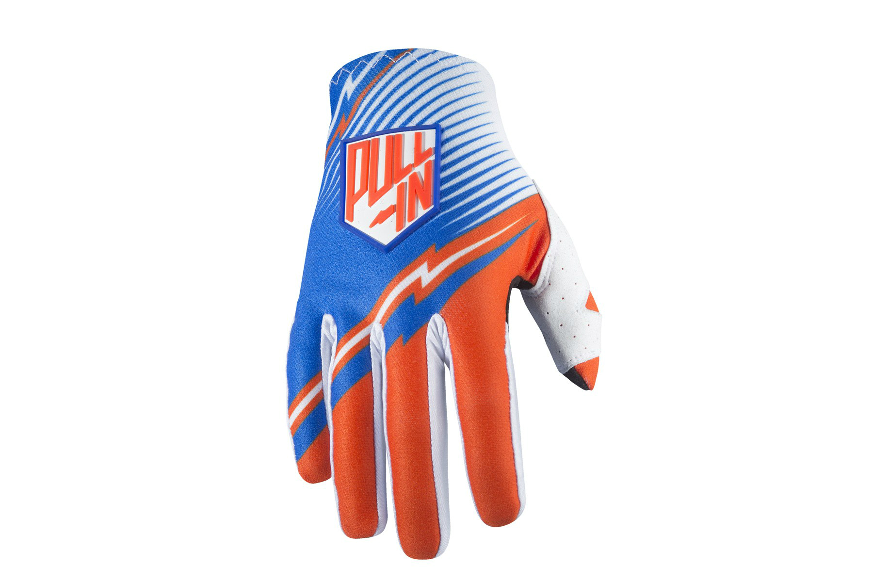 gants pull-in challenger bleu orange 2017 - Velobrival