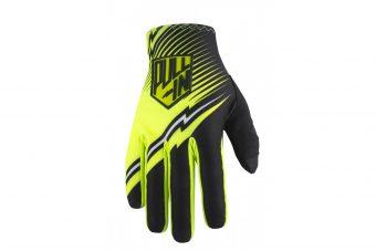 gants pull-in challenger noir jaune 2017 - Velobrival
